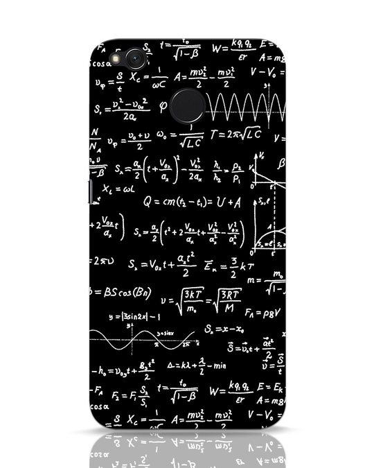 Shop Maths Xiaomi Redmi 4 Mobile Cover-Front