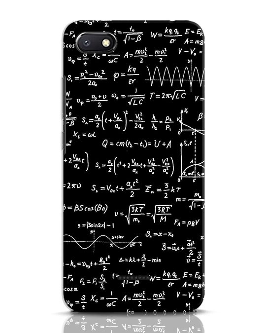 Shop Maths Xiaomi Redmi 6A Mobile Cover-Front