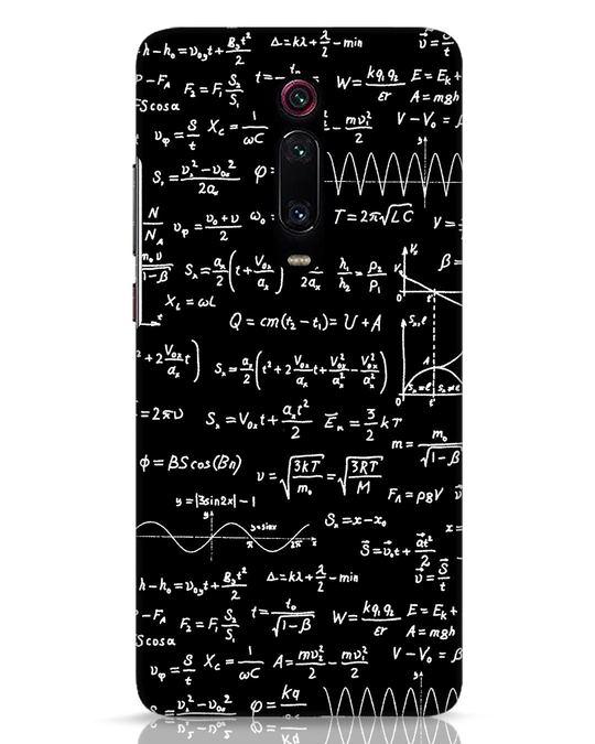 Shop Maths Xiaomi Redmi K20 Mobile Cover-Front