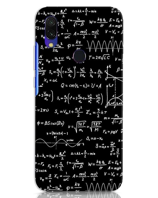 Shop Maths Xiaomi Redmi Y3 Mobile Cover-Front