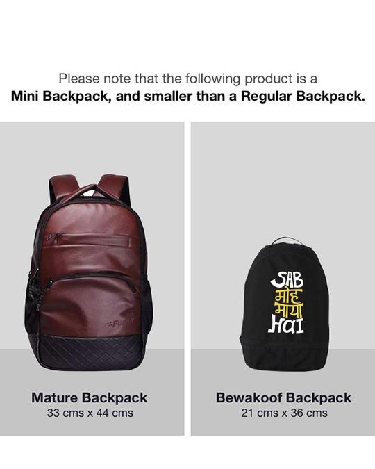Shop Maya Moh Small Backpack