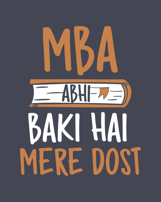 Shop Mba Abhi Baki Hai Full Sleeve T-Shirt