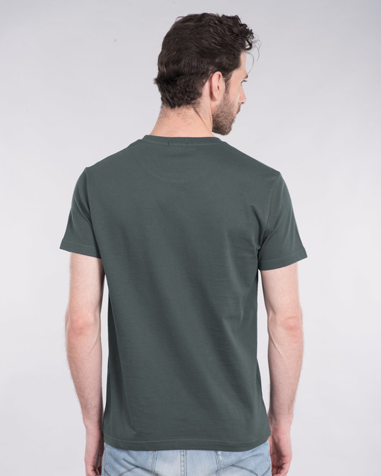 Shop Mello New Half Sleeve T-Shirt-Back