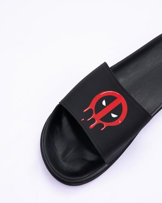 Shop Melting Deadpool Lightweight Men's Slider (DPL)