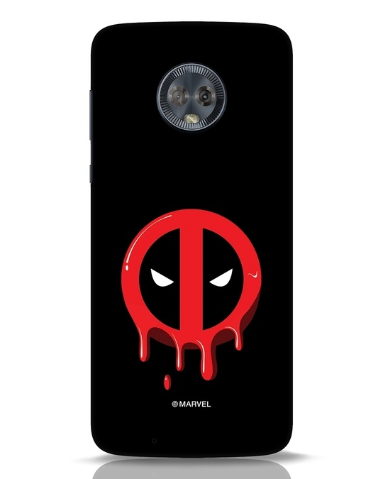 Shop Melting Deadpool Moto G6 Mobile Cover (DPL)-Front