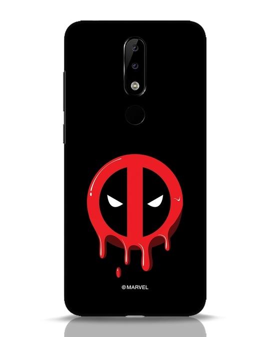 Shop Melting Deadpool Nokia 5.1 Plus Mobile Cover (DPL)-Front