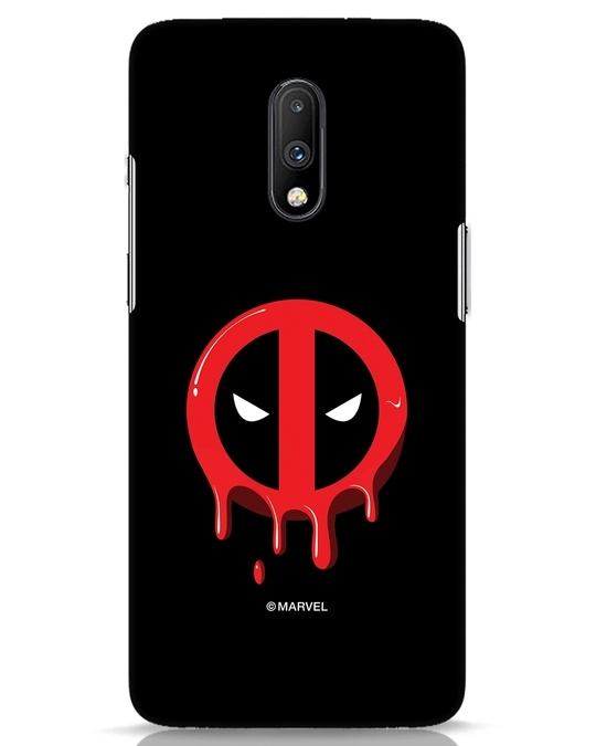 Shop Melting Deadpool OnePlus 7 Mobile Cover (DPL)-Front