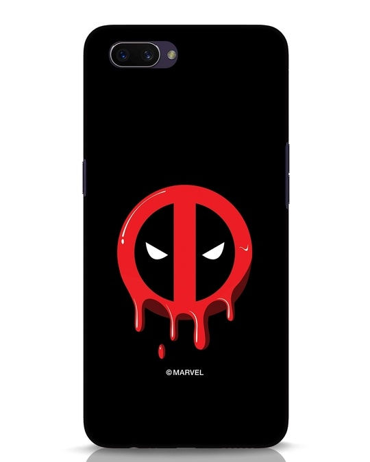 Shop Melting Deadpool Oppo A3S Mobile Cover (DPL)-Front