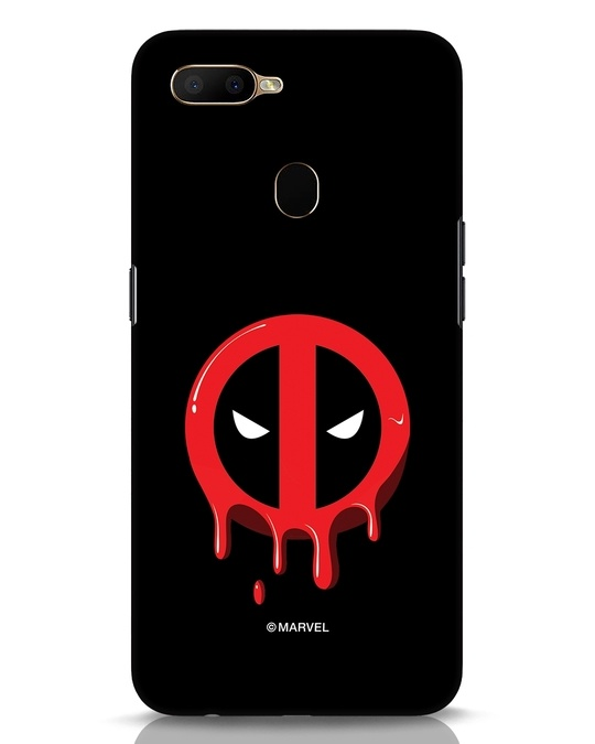 Shop Melting Deadpool Oppo A5s Mobile Cover (DPL)-Front
