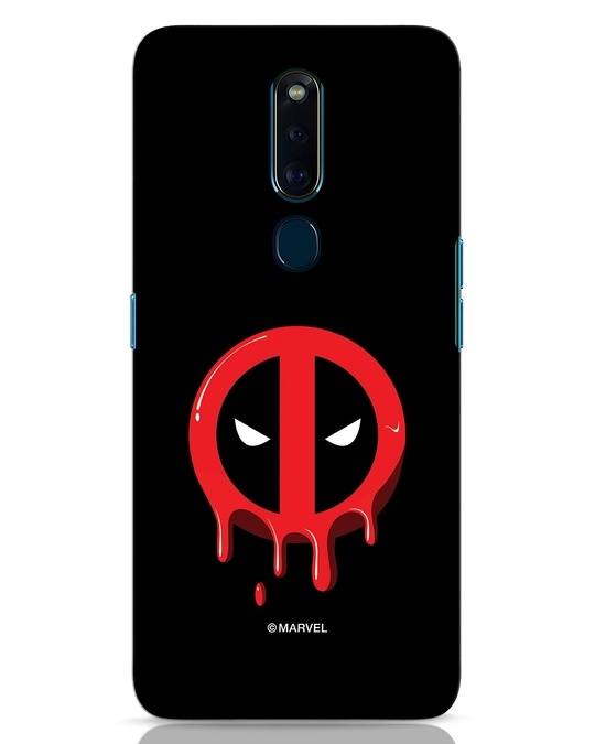 Shop Melting Deadpool Oppo F11 Pro Mobile Cover (DPL)-Front