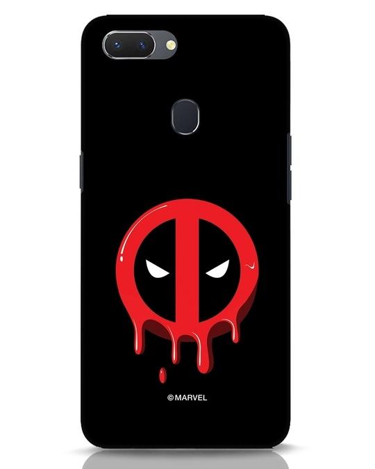 Shop Melting Deadpool Realme 2 Mobile Cover (DPL)-Front