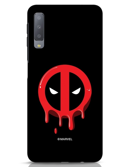 Shop Melting Deadpool Samsung Galaxy A7 Mobile Cover (DPL)-Front