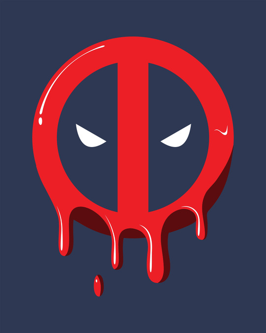 Shop Melting Deadpool Vest (DPL)