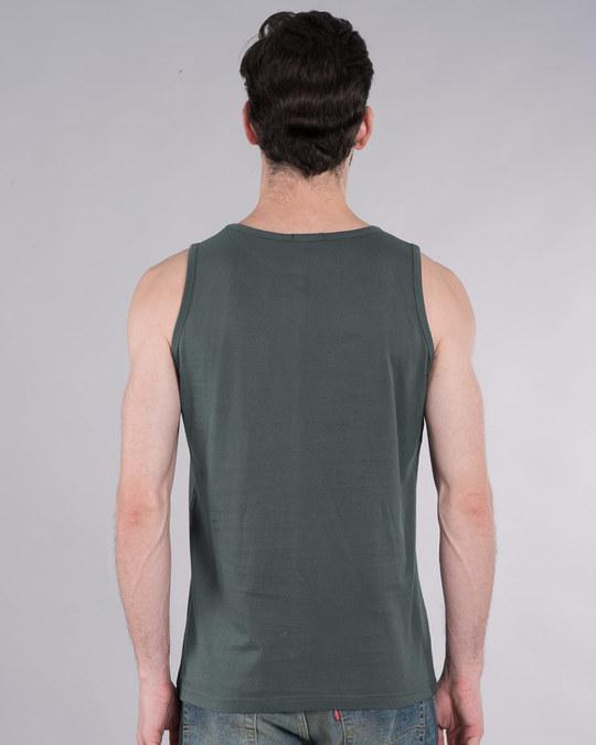Shop Melting Deadpool Vest (DPL)-Back