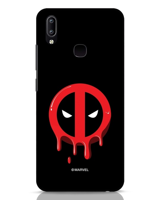 Shop Melting Deadpool Vivo Y91 Mobile Cover (DPL)-Front