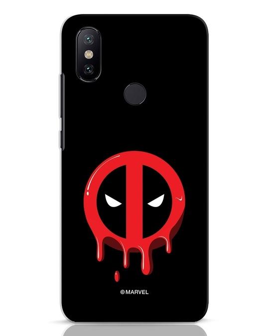 Shop Melting Deadpool Xiaomi Mi A2 Mobile Cover (DPL)-Front