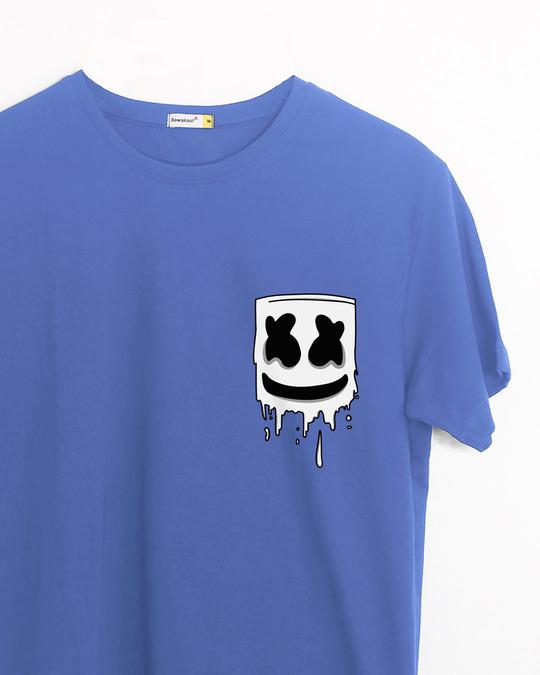 Shop Melting Mello Half Sleeve T-Shirt-Front