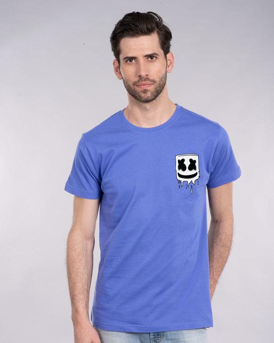 Shop Melting Mello Half Sleeve T-Shirt-Back