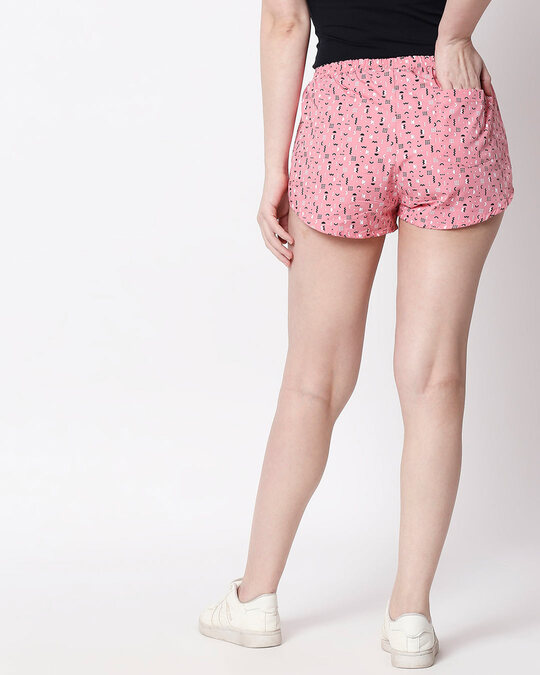 Shop Memphis Pattern All Over Printed Boxer-Full