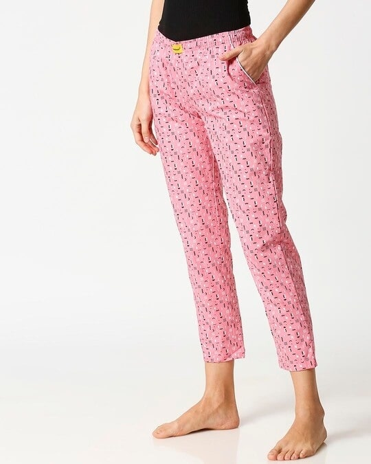 Shop Memphis Pattern All Over Printed Pyjama-Design