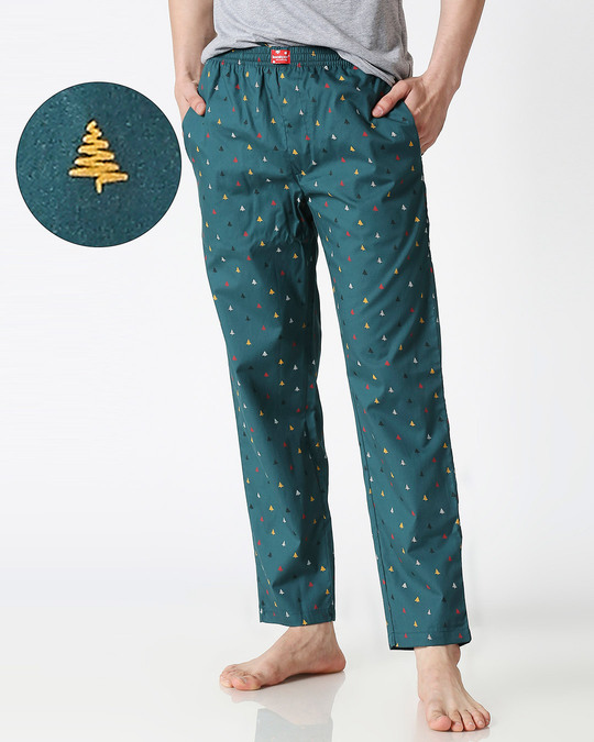 Shop Men All Over Printed Pyjama-Front