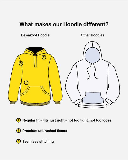 Shop Queen Pocket Print Fleece Hoodies-Design