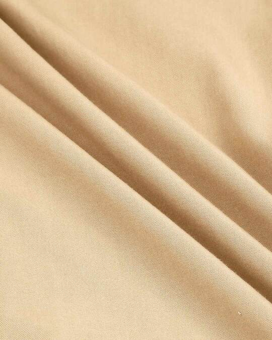 Shop Men's Beige Casual Slim Fit Over Dyed Shirts