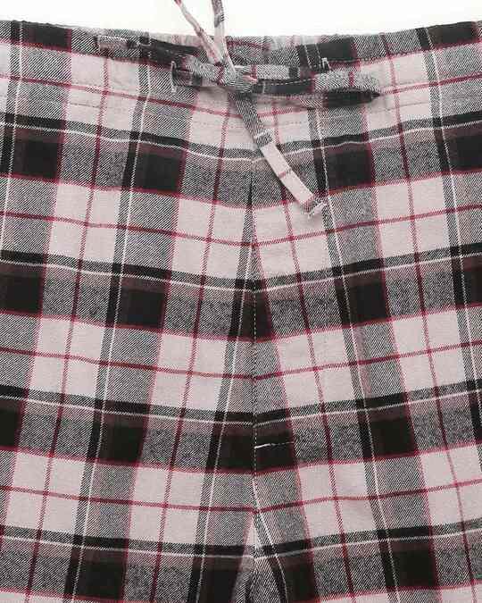 Shop Men Checks Pyjama