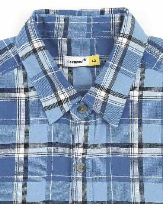 Shop Mens Checks Pocket Casual Shirt