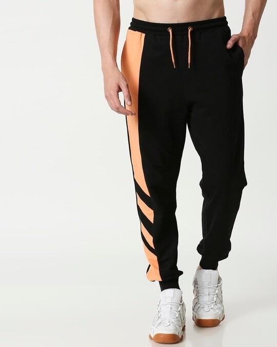 Shop Orange Rush Side Panel Jogger-Back