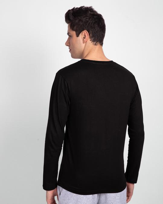 Shop Men's Full sleeve T-Shirt Pack of 3 Combo (Black- Pineapple Yellow-Grey)