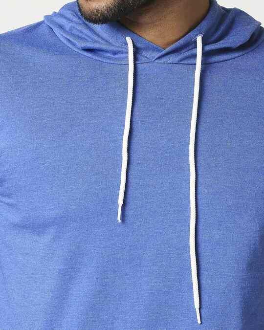 Shop Men's Half Sleeve Hoodie T-Shirt