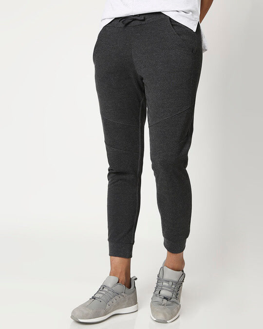 Shop Men's Melange Joggers-Front