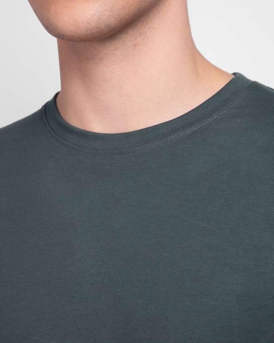 Shop Men's Plain Full Sleeve T-shirt Pack of 2(Red & Grey )