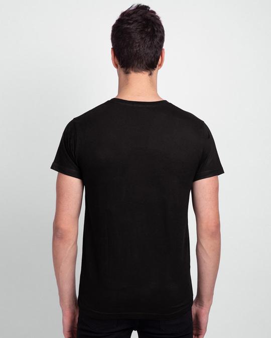 Shop Men's Plain Half Sleeve T-shirt Pack of 3(Black, White & Neon Green)