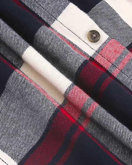 Shop Mens Sleeveless Checks Hoodie Shirt