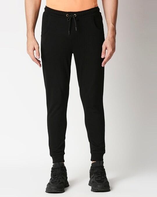 Shop Men's Solid Plain Jogger Pant-Back