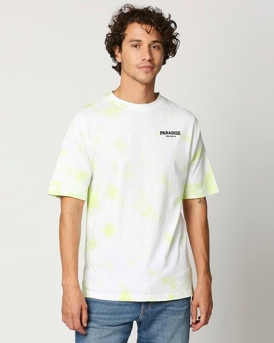 Shop Paradise Men's Tye & Dye Printed T-shirt-Back