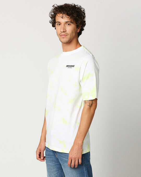 Shop Paradise Men's Tye & Dye Printed T-shirt-Design