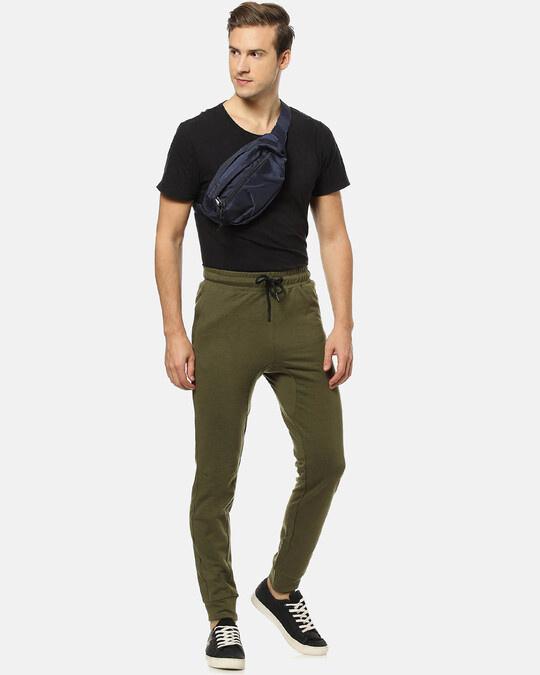 Shop Men's Solid Joggers-Design