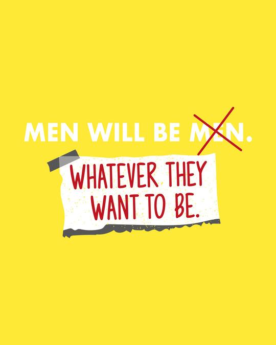 Shop Men Will Be.. Full Sleeve T-Shirt Pineapple Yellow-Full