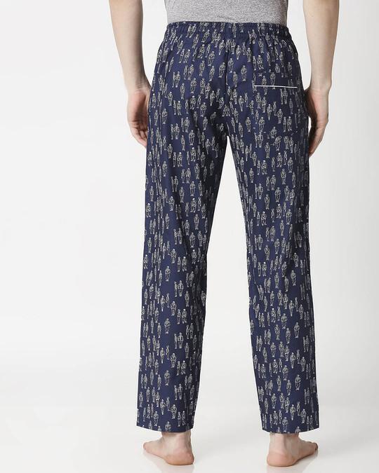 Shop Human Doodle Men's Pyjama-Full