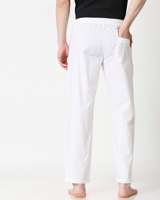 Shop Grey Doodles Men's Pyjama-Full