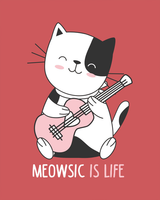 Shop Meowsic Boyfriend T-Shirt