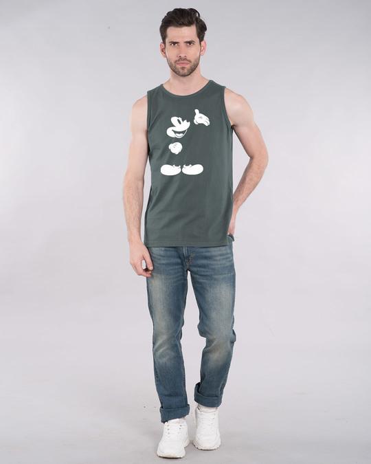 Shop Merged Mickey Glow In Dark Vest (DL) -Full