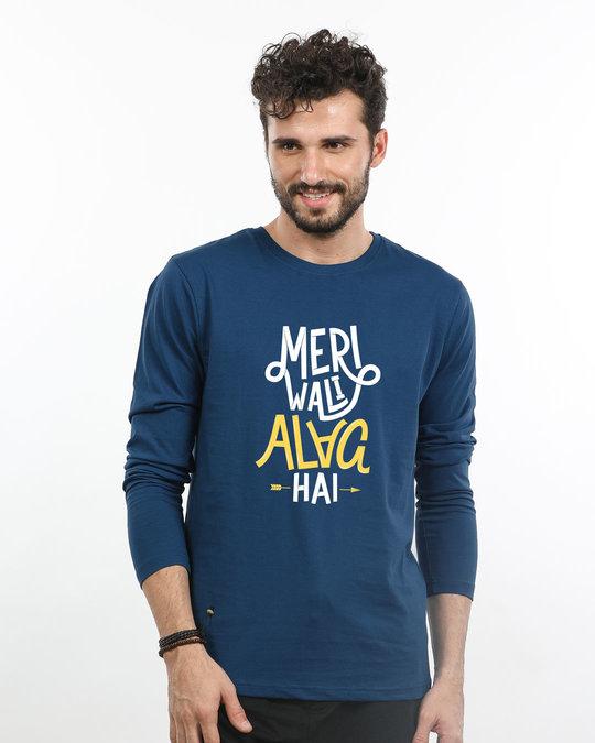 Shop Meri Wali Full Sleeve T-Shirt-Front