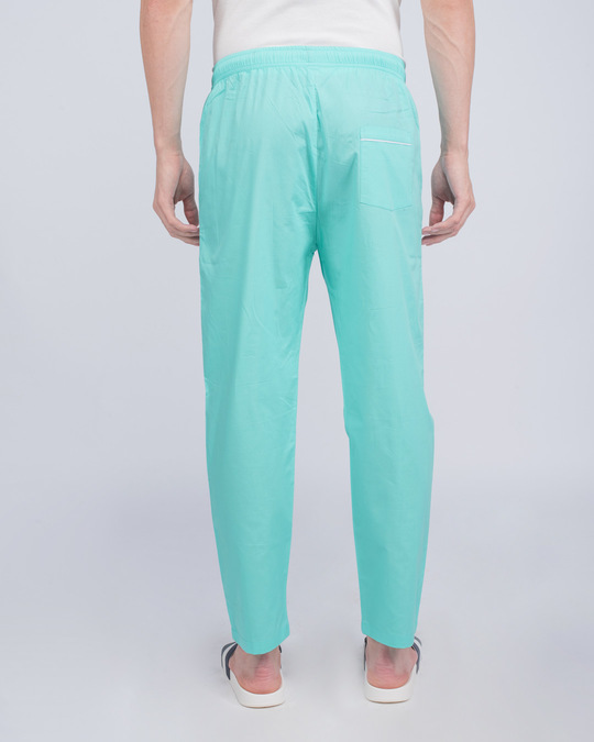 Shop Merlin Blue Plain Pyjama-Design