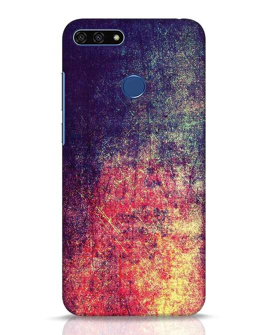 Shop Metal Colors Huawei Honor 7A Mobile Cover-Front