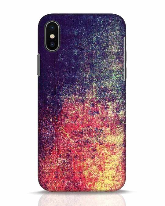 Shop Metal Colors iPhone X Mobile Cover-Front