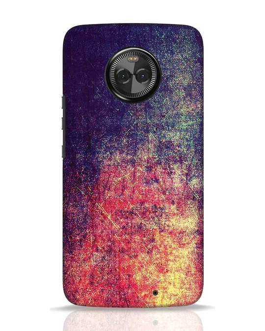 Shop Metal Colors Moto X4 Mobile Cover-Front